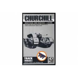 Track link for Churchill. AFV CLUB 35156