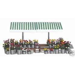 Market stand.