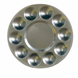 Paleta de aluminio con 10 pocillos. CHAVES 52101