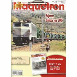 Revista Maquetren, nº 278. Abril 2016