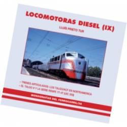 Locomotoras Diesel (IX). Trenes articulados TALGO