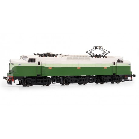 Electric locomotive RENFE 7802. Sound. ELECTROTREN 3024S
