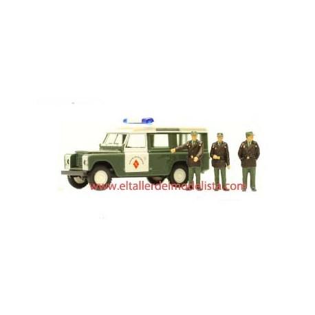 Land Rover 109 y agrupación de tráfico. - El Taller del Modelista SL