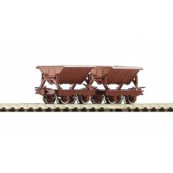 2 piece set side tipping wagons. ROCO 34498