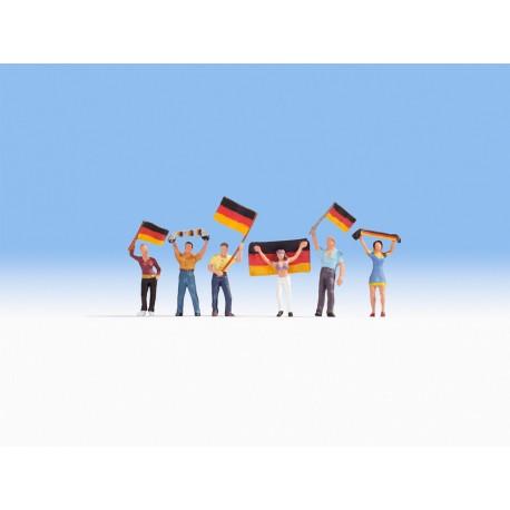 Aficionados alemanes. NOCH 15966