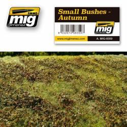 Small bushes, autumn. AMIG 8359