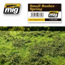 Small bushes, spring. AMIG 8360