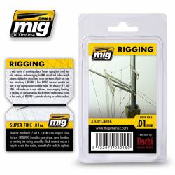 Rigging, superfine. AMIG 8016