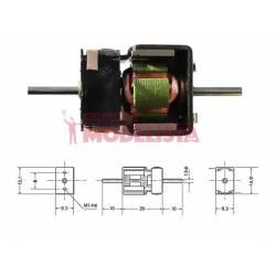 Motor de corriente contínua, 20mm. MASHIMA M-20KD