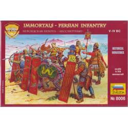 """Infantería persa, """"Inmortales"""". ZVEZDA 8006"""