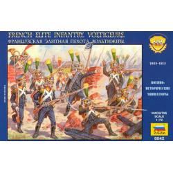 "Infantería de élite francesa, ""Voltigeurs"". ZVEZDA 8042"