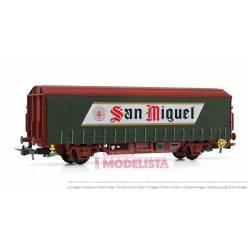"Beer wagon ""San Miguel"". RENFE."