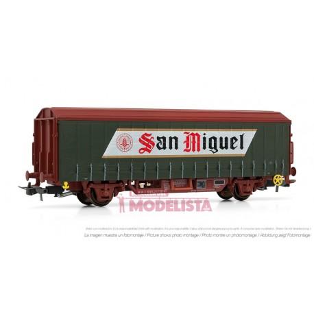 """Beer wagon """"San Miguel"""". RENFE. ELECTROTREN 1628"""