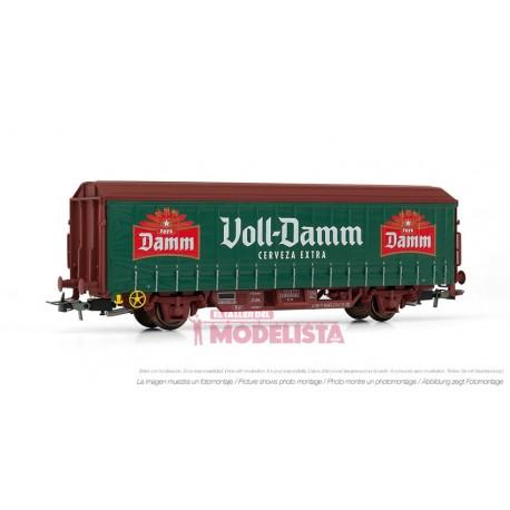 """Beer wagon """"Voll-Damm"""". RENFE. ELECTROTREN 1629"""