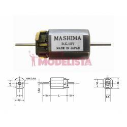 Motor de corriente contínua, 20mm. MASHIMA MH-1220D