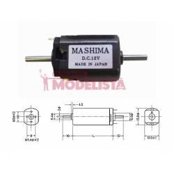 Motor de corriente contínua, 24mm. MASHIMA MH-1624D