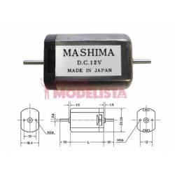 Motor de corriente contínua, 30mm. MASHIMA MH-1830D