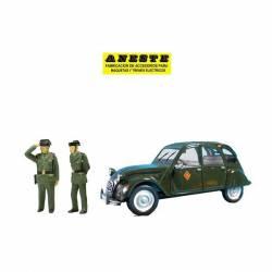 Citroën 2 CV and agents.