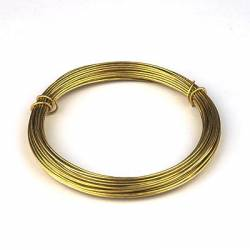 Brass wire 0,40 mm.