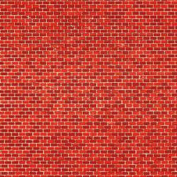 Brick wall. AUHAGEN 50104