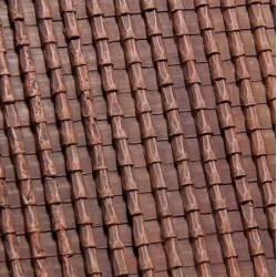 "Roman roof tiles ""regular""."