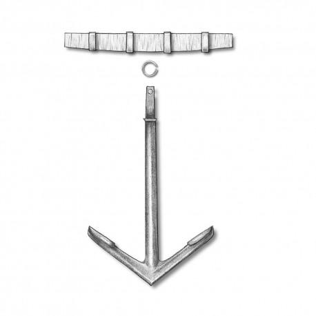 Spanish anchor, 20 mm. AMATI 4015/20