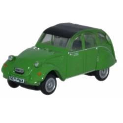 Citroën 2CV Verde.