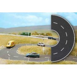 Carretera en curva.