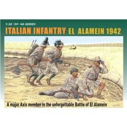 Infantería italiana, El Alamein.