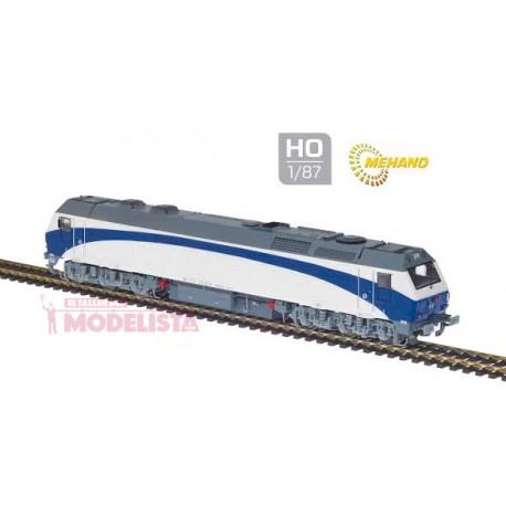"Locomotora 333.402, Renfe ""Grandes Lineas"". MABAR 58804"