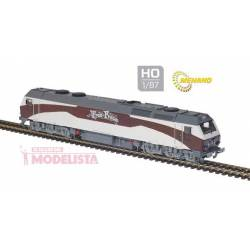 "Locomotora 333.407, ""Tren de la Fresa"". MABAR 58808"