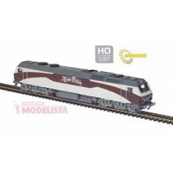 """Locomotive 333.407, """"Tren de la Fresa""""."""