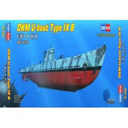 DKM-U boat Type IX B. HOBBY BOSS 87006