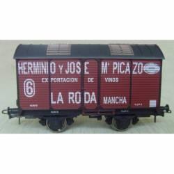 "Vagón fudre sin garita ""H. y J. Mª Picazo""""."