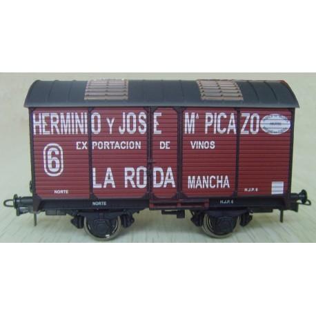 "Vagón fudre sin garita ""H. y J. Mª Picazo"""". KTRAIN 0711F"