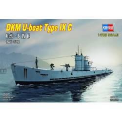 DKM-U boat type IX C. HOBBY BOSS 87007