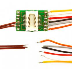 Next18 adapter w/ wires. D&H N18-K3