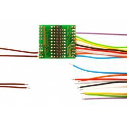 Adaptador de 21 pins con cables. D&H M21-3