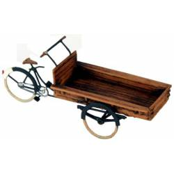 Bicicleta con carrito.