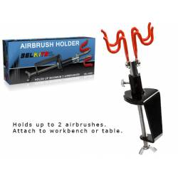 Airbrush holder.