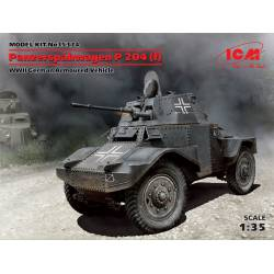 Blindado alemán P 204(f), WWII.