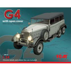 Typ G4, WWII German Personnel Car. ICM 24012
