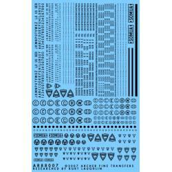 Cifras, letras y símbolos. ARCHER AR88007