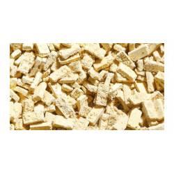 Dark beige clay bricks, (x200).