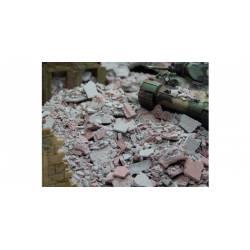 Grey/brick-red (50 grams) JUWEELA 27166
