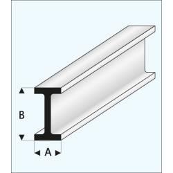 "Channel ""I"" 6,0 x 12,0 mm. MAQUETT 414-58/3"