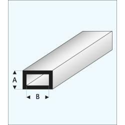 Tubo rectangular de 10,0 mm.