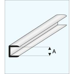 Remate con canal de 2,0 mm. MAQUETT 446-53/3