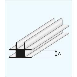 "Conector en ""T"" 1,5 mm. MAQUETT 447-52/3"