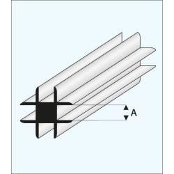 Cross connector 2,0 mm.